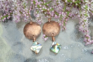 Copper and Abalone Drop 18.00